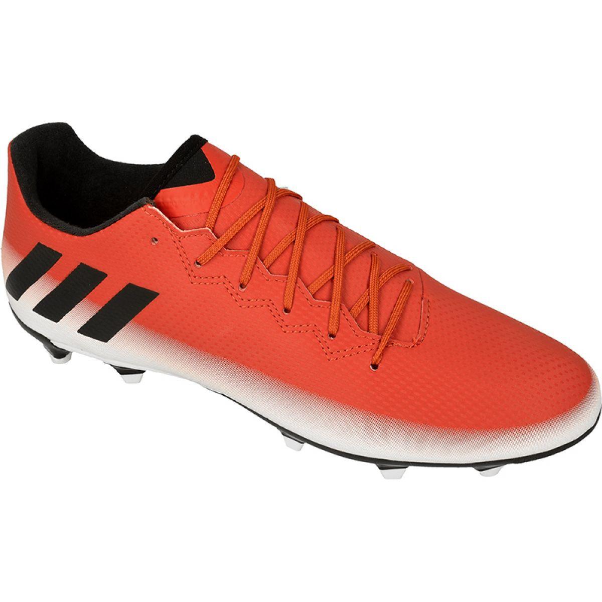 Buty piłkarskie adidas Messi 16.3 Fg M BA9020 czerwony czerwone