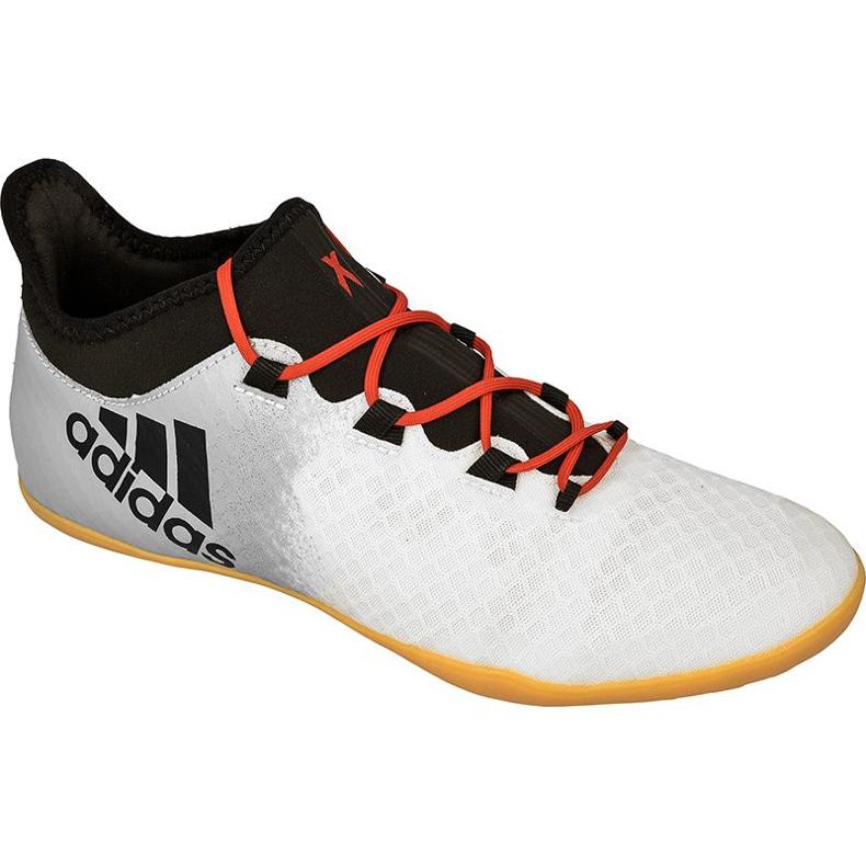 Buty halowe adidas X Tango 16.2 In M BA9471 białe białe