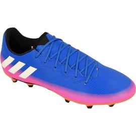 Buty piłkarskie adidas Messi 16.3 Fg M BA9021 niebieskie niebieskie