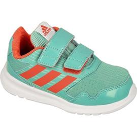 Buty adidas AltaRun Cf Kids zielone