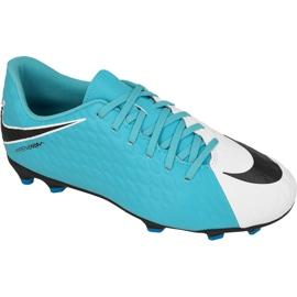 Buty piłkarskie Nike Hypervenom Phade Iii niebieskie wielokolorowe