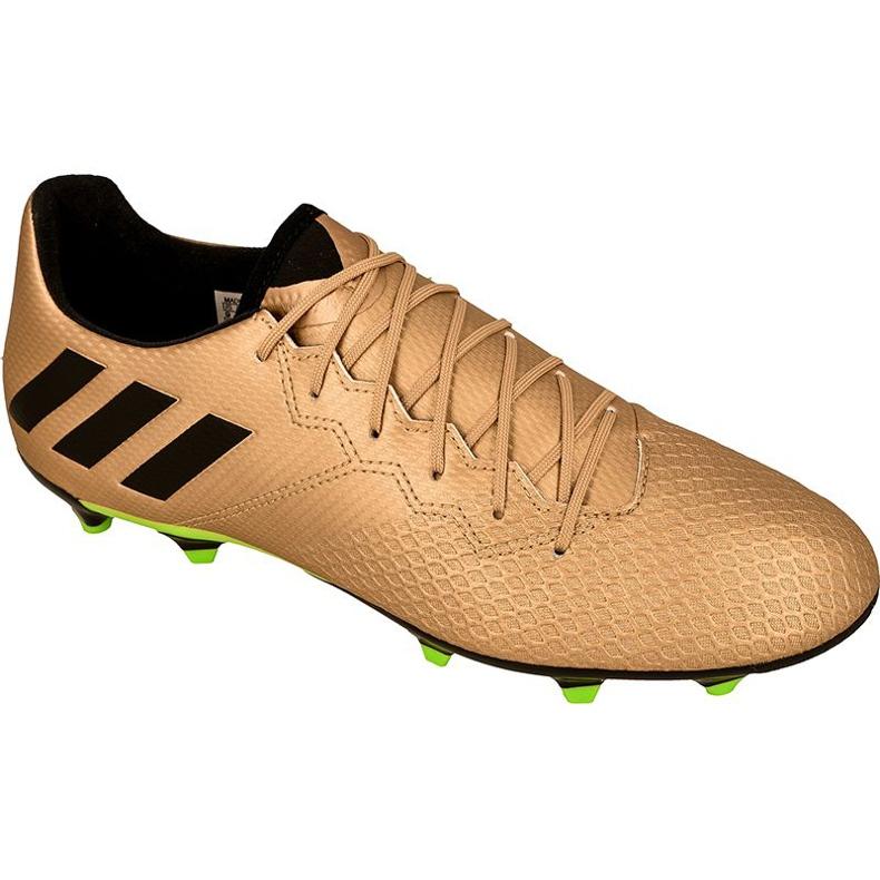 Buty piłkarskie adidas Messi 16.3 Fg M BA9838 złoty złoty