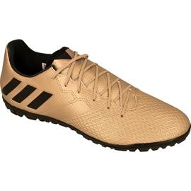 Buty piłkarskie adidas Messi 16.3 Tf złoty