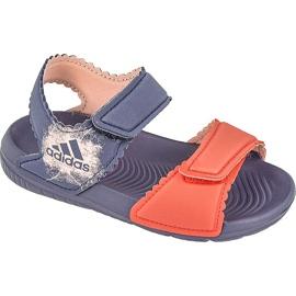 Sandały adidas AltaSwim G I Kids BA7870 granatowe