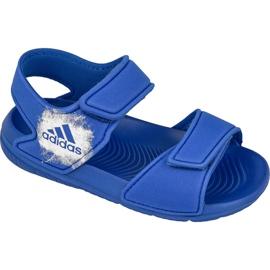 Niebieskie Sandały adidas AltaSwim I Kids BA9281