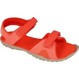 Sandały adidas Sandplay Od Jr S82188 czerwone