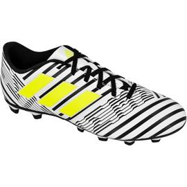 Buty piłkarskie adidas Nemeziz 17.4 FxG M S80606 wielokolorowe białe