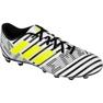 Buty piłkarskie adidas Nemeziz 17.4 FxG M S80606 biały, czarny białe