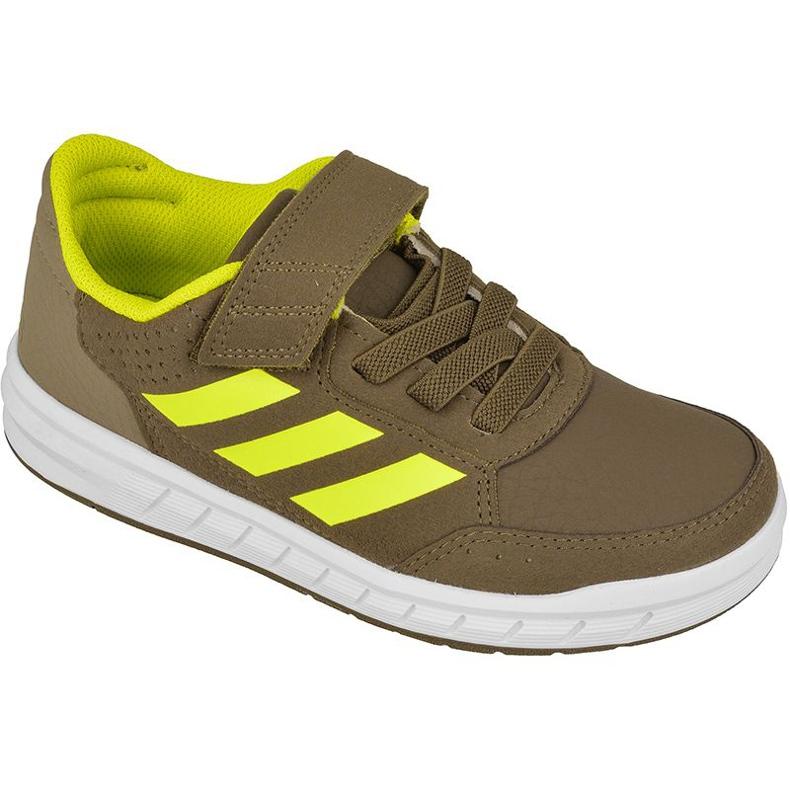 Buty adidas AltaSport El Kids BY2661 zielone