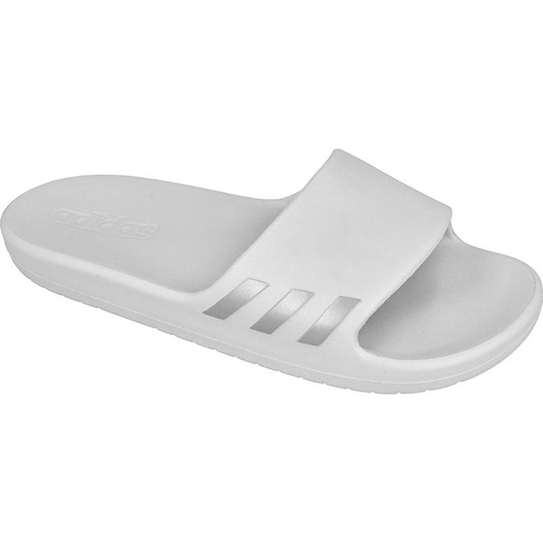 Klapki adidas Aqualette W BB0488 białe szare