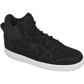 Buty Nike Sportswear Court Borough Mid Premium M 844884-007 czarne