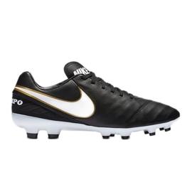 Buty piłkarskie Nike Tiempo Mystic V Fg czarne czarne