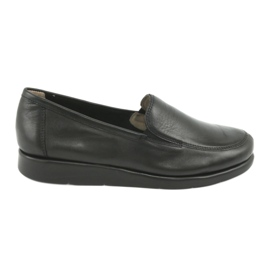 Czarne Caprice mokasyny buty damskie 24751