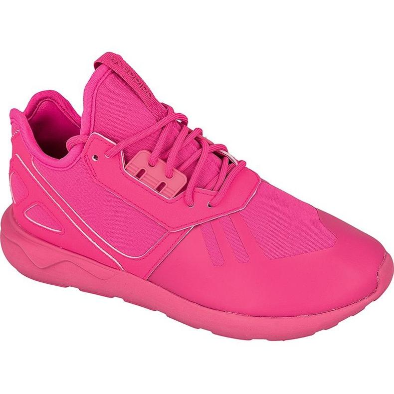 Buty adidas ORIGINALS Tubular Runner Jr S78726 różowe
