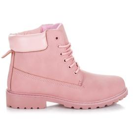 Seastar Różowe traperki damskie