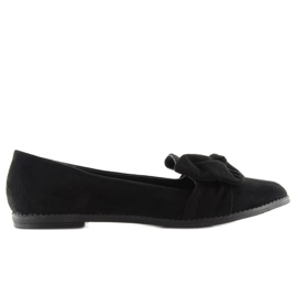 Mokasyny lordsy czarne 888-1 black