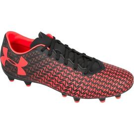 Buty piłkarskie Under Armour Force 3.0 Fg czerwone
