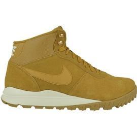 Buty zimowe Nike Hoodland Suede M 654888-727 brązowe