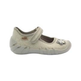 Befado obuwie dziecięce kapcie balerinki 109p163