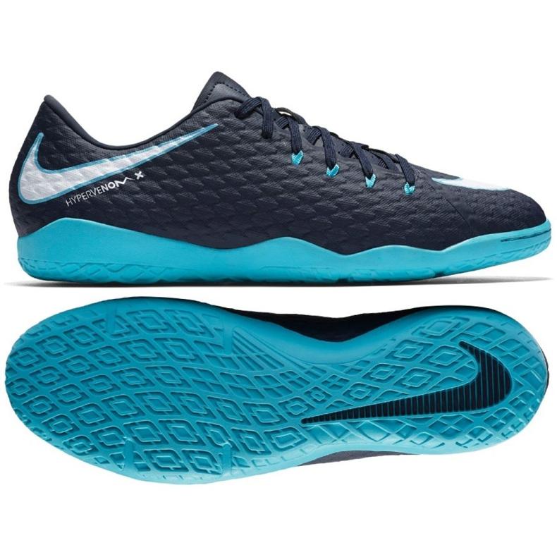 Buty halowe Nike HypervenomX Phelon Iii Ic granatowe wielokolorowe