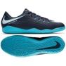 Buty halowe Nike HypervenomX Phelon Iii Ic granatowy, niebieski granatowe