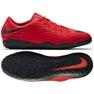 Buty halowe Nike HypervenomX Phelon Iii czerwone