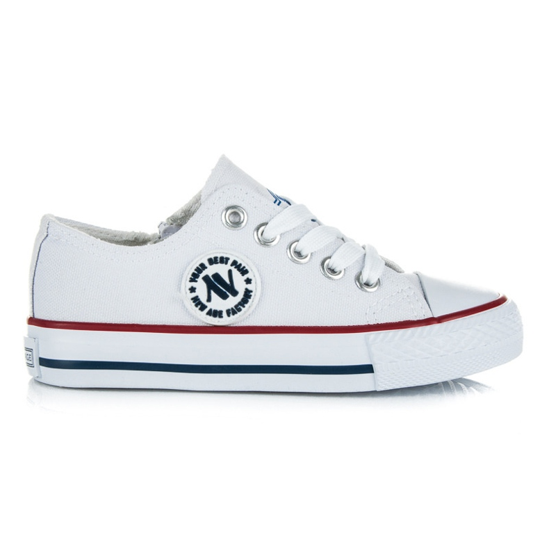 New Age Buty Sportowe Dla Dzieci białe