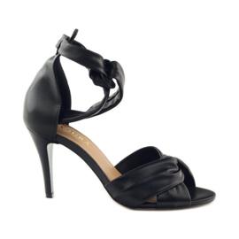 Sandały damskie Badura 4650 czarne