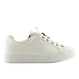 Trampki damskie białe 7209 White