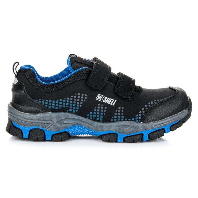 American Club Dziecięce Buty Trekkingowe czarne