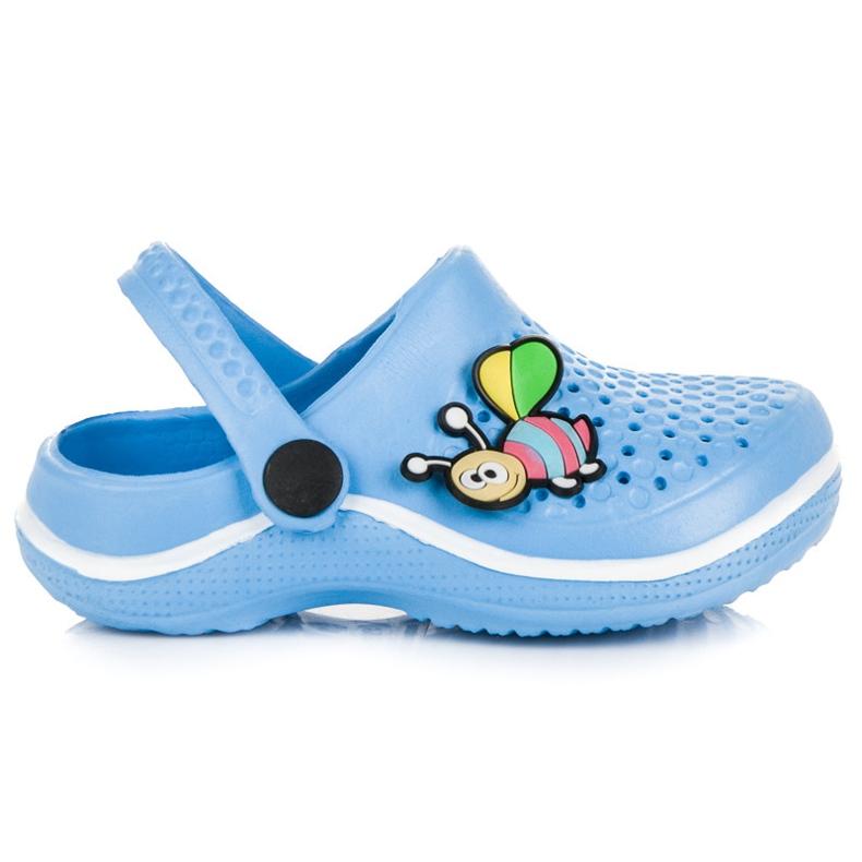 Hasby Dziecięce klapki niebieskie