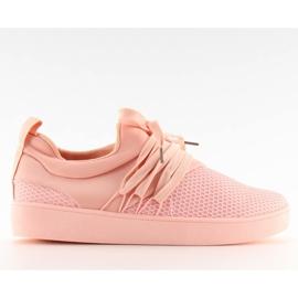 Buty sportowe damskie różowe NB186P Pink