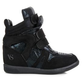 Sneakersy na rzepy vices czarne