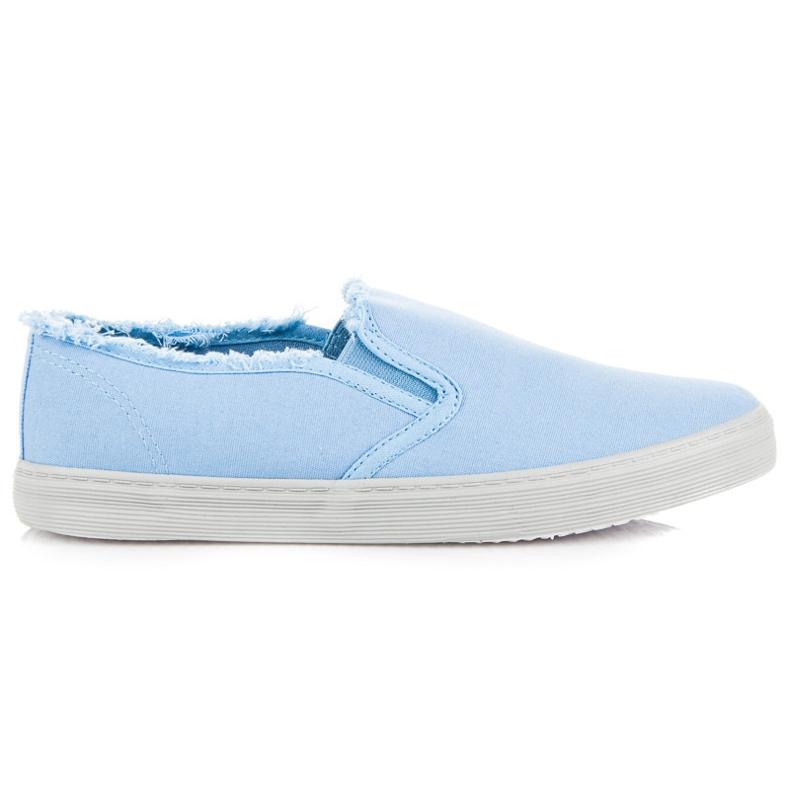 Seastar Niebieskie Slipony