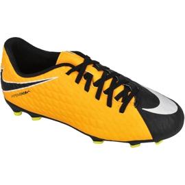 Buty piłkarskie Nike Hypervenom Phade Iii żółte wielokolorowe