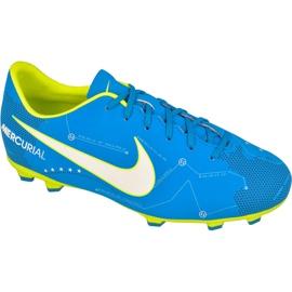 Buty piłkarskie Nike Mercurial Victory Vi Njr Fg Jr 921488-400 niebieskie niebieskie