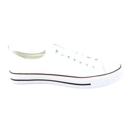 American Club Trampki buty męskie białe wiązane American