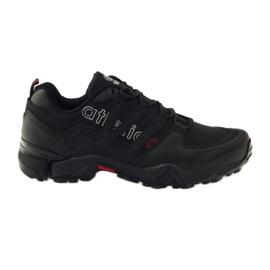 Czarne buty sportowe Atletico 8003