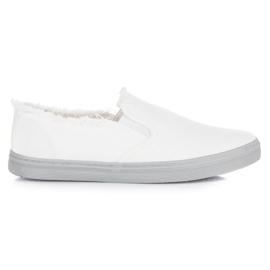 Seastar Białe Slipony