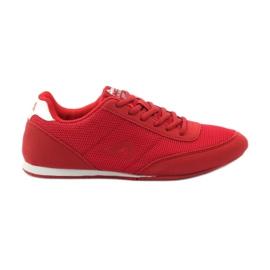 American Club Sportowe joggingowe American 7066 czerwone