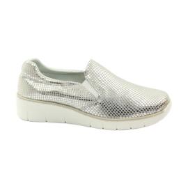 Slipony buty sportowe skórzane Filippo 204