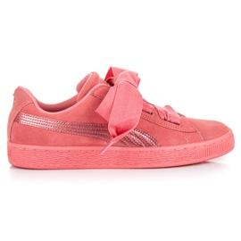 Puma Suede Heart Snk Jr różowe