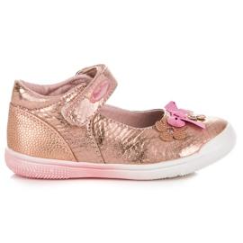 American Club Różowe buciki na wiosnę american