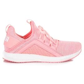 Różowe Puma Mega Nrgy Knit WN`S