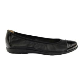 Caprice wygodne balerinki 22152 czarne