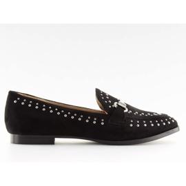 Mokasyny damskie czarne G241 Black
