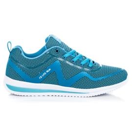 Ax Boxing niebieskie Buty Sportowe Na Co Dzień
