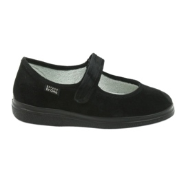 Befado obuwie damskie pu 462D002 czarne