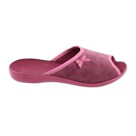 Befado obuwie damskie pu 254D084 różowe