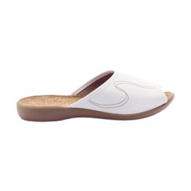 Białe Befado obuwie damskie pu 254D058
